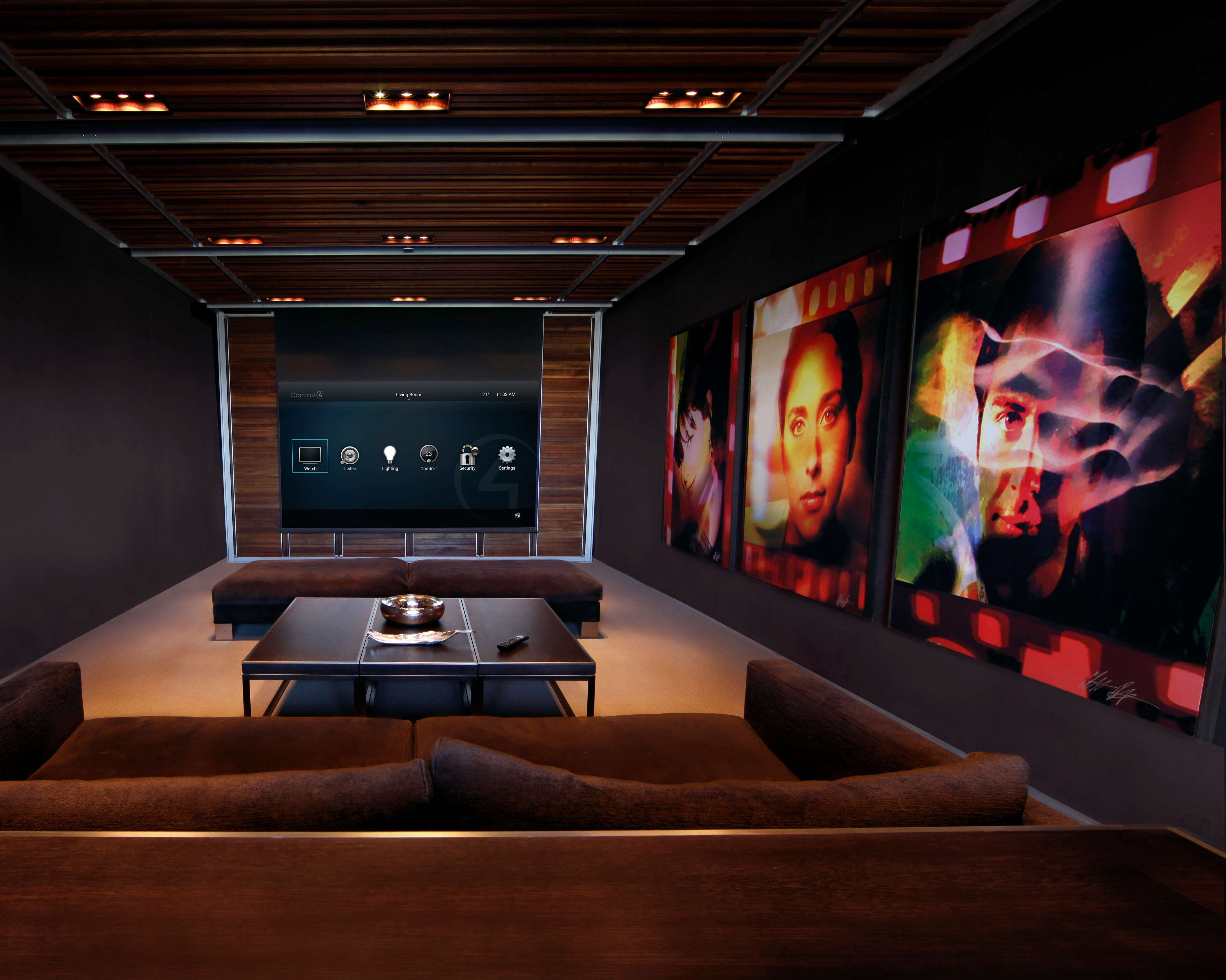 JAW-DROPPING  HOME CINEMA